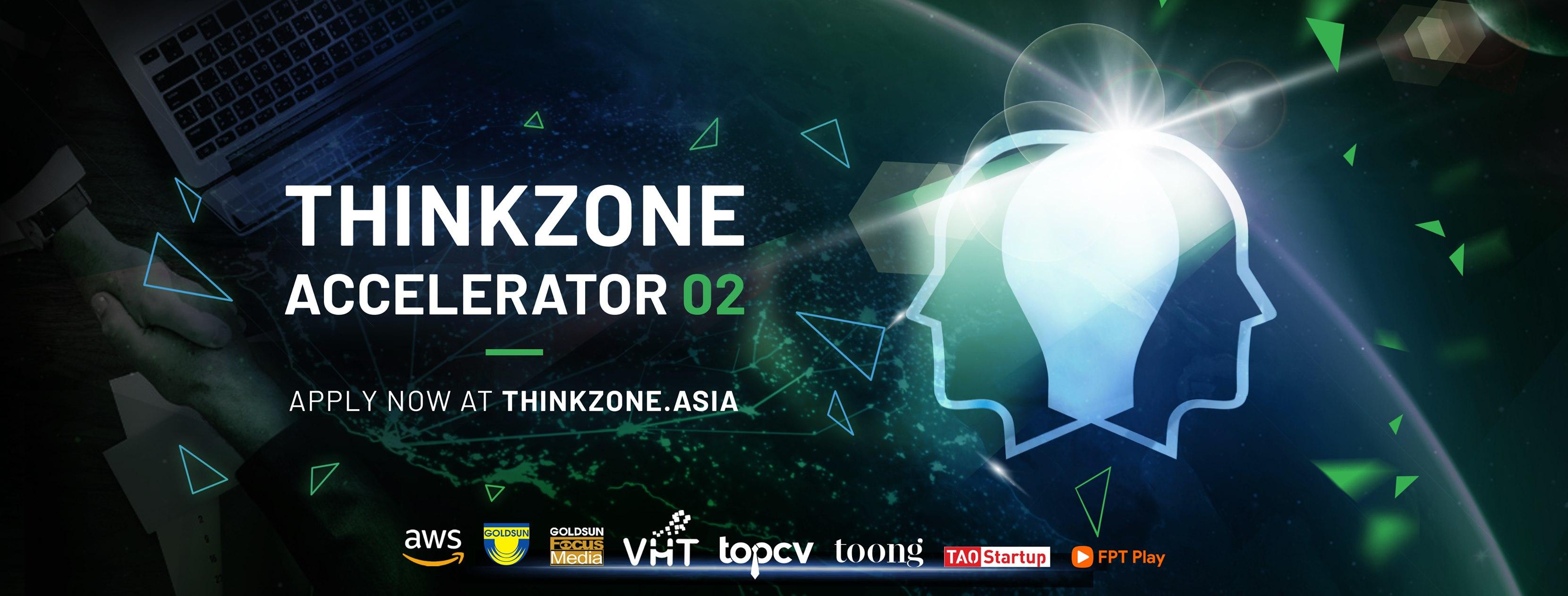 Tiết kiệm hơn 700 TRIỆU ĐỒNG chi phí với các gói hỗ trợ từ ThinkZone Accelerator Batch 02